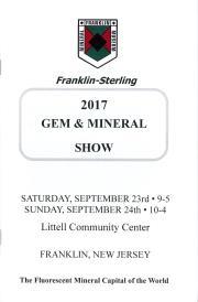 2017 Franklin-Sterling Gem and Mineral Show